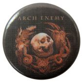 Arch Enemy - 'Will to Power' Button Badge